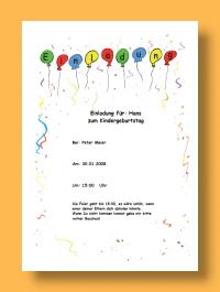 word vorlage einladung geburtstag – needyounow, Einladung