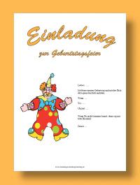 Einladungen Kindergeburtstag.de